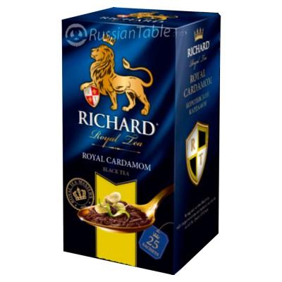 """Black tea """"Richard"""" Royal Cardamon (25 count)"""