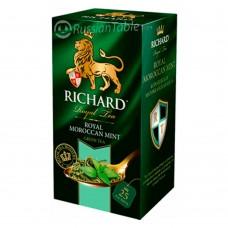 "Green tea ""Richard"" Royal Moroccan Mint 25 sachets"