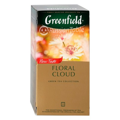"""Greenfield Green Tea """"Floral Cloud"""" (25 count)"""
