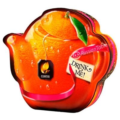 "Black Leaf tea ""Curtis"" Drink Me! Orange Chocolate Teapot 55g"
