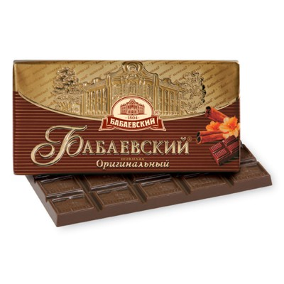"Imported Russian Chocolate ""Babaevskiy"" Original"