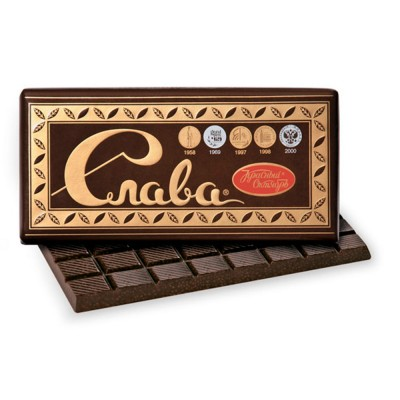 "Imported Russian Aerated Chocolate ""Slava"""
