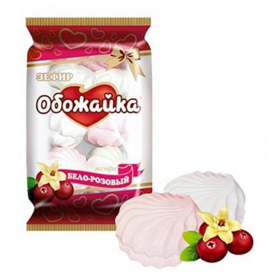 "Marshmallow ""Obozhayka"" White-pink"