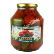Tomatoes with gherkins 3 lt