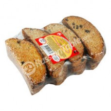 "Wheat biscotti ""With Raisins and Sugar"""