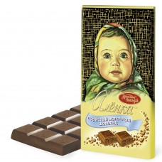 "Imported Russian Aerated Chocolate ""Alionka"""