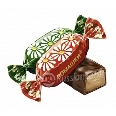 "Imported Russian Chocolates ""Romashka"" 1 lb"