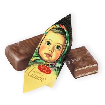"Imported Russian Chocolates ""Alyonka"" (1lb)"
