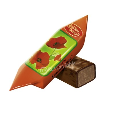 "Imported Russian Chocolates ""Krasniy Mak"" 1 lb"