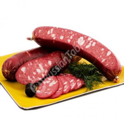 "Naturally Smoked Cooked Salami""Minskaya"""