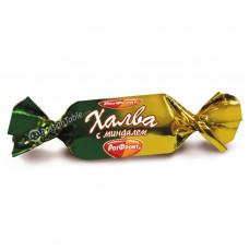 "Chocolate-Glazed Halva ""Rot Front"" with Almonds"
