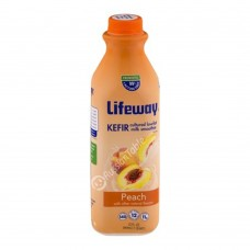 "Kefir Probiotic ""LifeWay"" with Peach Flavor"
