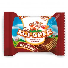 "Wafer Candies ""Korovka"" (Chocolate Taste)"
