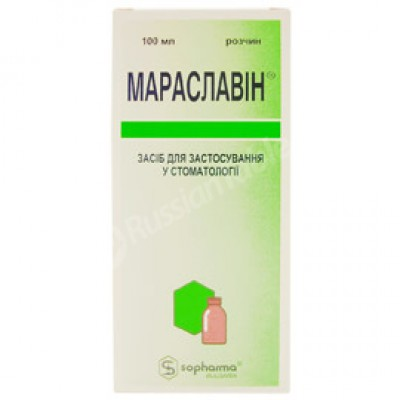 Maraslavin (paradentosis prevention)