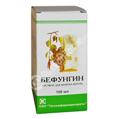 Befungin (against gastritis)