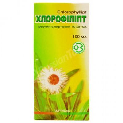 Chlorophyllipt (100ml) Spirit tincture
