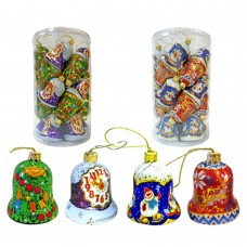 "Chocolate Christmas Tree ornaments ""Bells"""