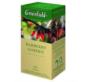 "Greenfield Black Tea ""Barberry Garden"" 25 bags"