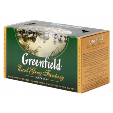 "Greenfield Black Tea ""Earl Grey Fantasy"" 25 bags"