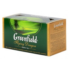 "Greenfield Green Tea ""Flying Dragon"" 25 pak"