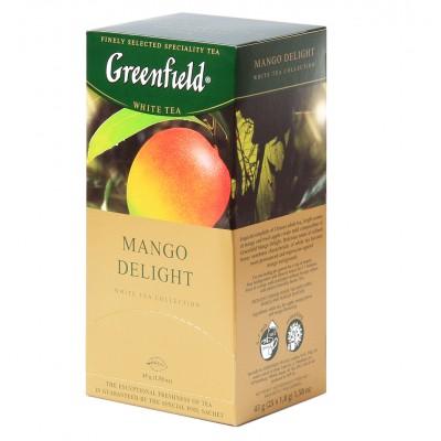 "Greenfield green Tea ""Mango Delight"" 25 bags"