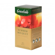 "Greenfield Herbal Tea ""Summer Bouquet"" 25 bags"
