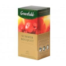 """Greenfield Herbal Tea """"Summer Bouquet"""" 25 bags"""