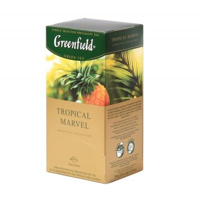"Greenfield Green Tea ""Tropical Marvel"" 25 bags"