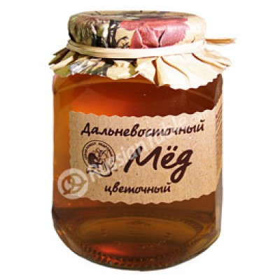 "Honey ""Far Eastern"" Raspberry"