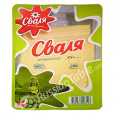 "Lithuanian cheese ""Svalya"""