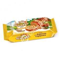 """Sponge roll cake  """"Korovka"""" with Baked Milk Flavor"""