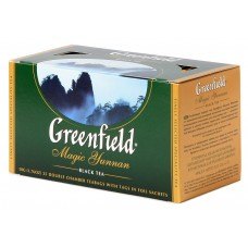 "Greenfield Black Tea ""Magic Yunnan"" 25 bags"