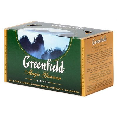 "Greenfield Black Tea ""Magic Yunnan"" 25 bags"
