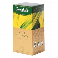 "Greenfield Herbal Tea ""Mate Aguante"" 25 bags"