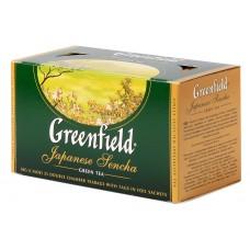 "Greenfield Green Tea ""Japanese Sencha"" 25 bags"