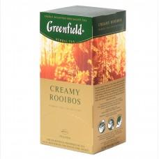 """Greenfield Herbal Tea """"Creamy Rooibos"""" 25 bags"""