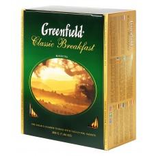 "Greenfield Black Tea ""Classic Breakfast"" 100 bags"