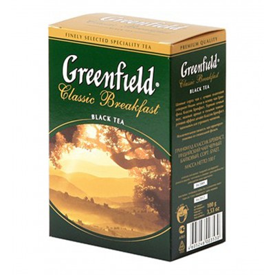 "Greenfield Black Tea ""Classic Breakfast"" 100  g"