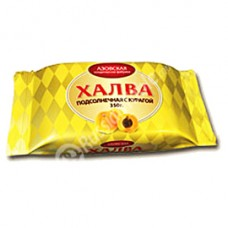 "Sunflower Halva ""AZOV"" with dried apricots 350 g"