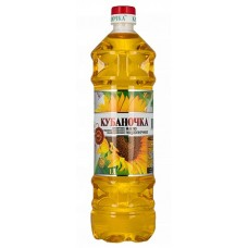 """Kubanochka"" unrefined Sunflower oil"