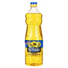 """Kuban""  unrefined Sunflower oil"