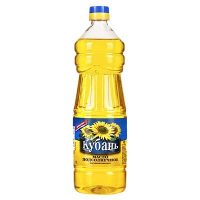 "Sunflower Oil ""Kuban"" Unrefined"