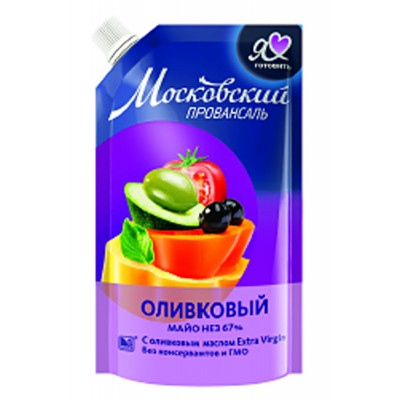 "Mayonnaise ""Moscow Provansal"" Olive 220g"