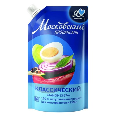 "Mayonnaise ""Moscow Provansal"" Classic 220 g"