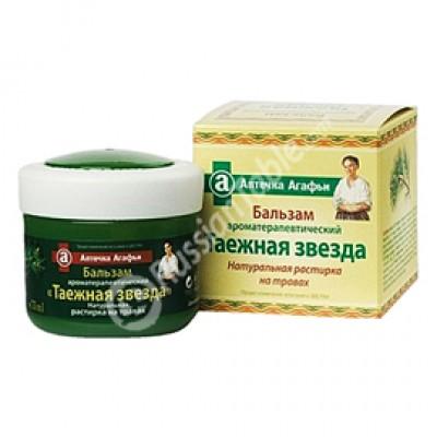 "Aromatherapy Balsam ""Taiga Star"" Rastirka 75ml"