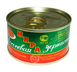 "Salmon caviar ""Ostrova"" 130 gr"