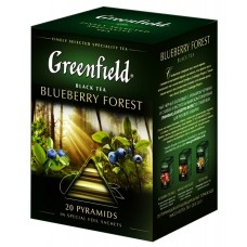"Greenfield Black Tea ""Blueberry forest"" 20pak"