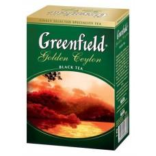 "Greenfield Black Tea ""Golden Ceylon"" 100 g"