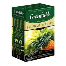 "Greenfield Green Tea ""Tropical Marvel"" 100 g"