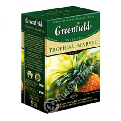 "Greenfield Green Tea ""Tropical Marvel"" 100 g"